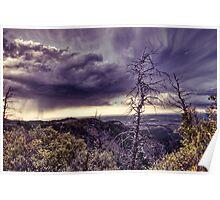 Mesa Verde Storm Poster
