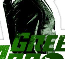 Green Arrow Superhero Sticker