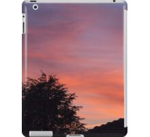 sunset at the countryside iPad Case/Skin