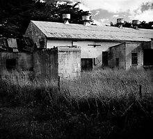 Abandoned factory near Tantanoola, South Australia by Elana Bailey