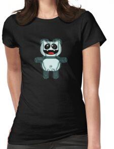 PANDA 3 Womens Fitted T-Shirt
