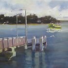Arriving at Bundeena by Tash  Luedi Art