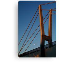 Walk Bridge Barwon River Geelong Canvas Print