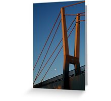 Walk Bridge Barwon River Geelong Greeting Card