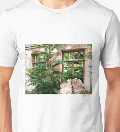 Abandoned house closeup Unisex T-Shirt