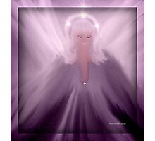 ANGEL OF HOPE AND PROTECTION...LIBRA... Photographic Print