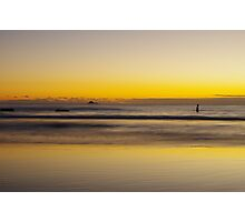 Just before sunrise at Byron Bay Photographic Print