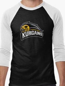 Kurgan Sports Logo Men's Baseball ¾ T-Shirt