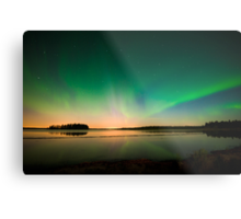 Northern Lights - Elk Island National Park (Edmonton, AB Canada) Metal Print