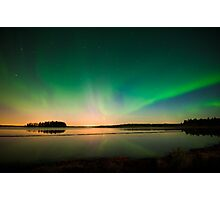 Northern Lights - Elk Island National Park (Edmonton, AB Canada) Photographic Print