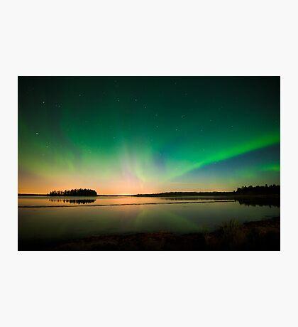 Northern Lights - Elk Island National Park (Edmonton, AB Canada) Photographic Print
