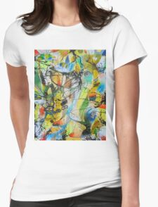 See Through The Confusion Womens Fitted T-Shirt