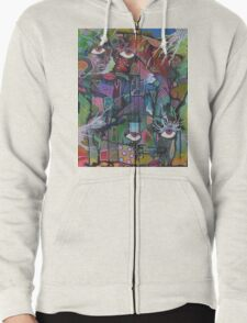 Inner Thoughts Zipped Hoodie