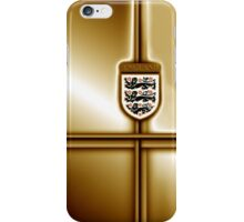 England Football / Soccer gold edition iPhone Case/Skin