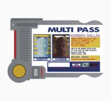 Korben Dallas Multipass by Adam Angold