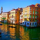 Venice - Central Canal by Jerry L. Barrett