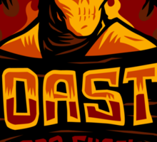Toasty BBQ Shack - STICKER Sticker