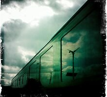 The Green Train by kibishipaul
