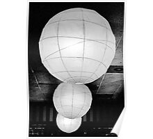 Paper Lampshades II Poster