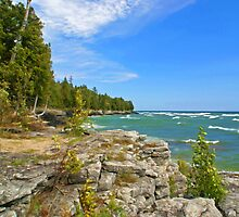 Lake Michigan,Wisconsin by JohnDSmith