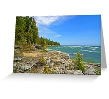 Lake Michigan,Wisconsin Greeting Card