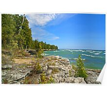 Lake Michigan,Wisconsin Poster