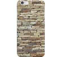 Old stone wall texture iPhone Case/Skin