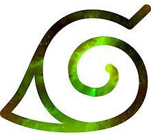 Galaxy Leaf Village Symbol by ZipZapAttack