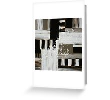 Hope in Black and White Greeting Card