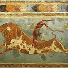 Knossos: Toreodor Fresco by Quixotegraphics