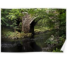 Holne Bridge Poster