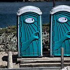 Picasso's Porta-Potties? by Bob Wall
