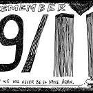 Remember 9/11 by bubbleicious