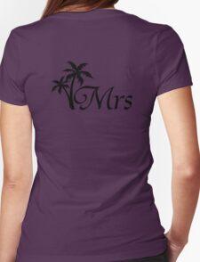 His and Hers Mr and Mrs Wedding Honeymoon Matching T-shirts T-Shirt