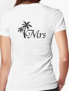 His and Hers Mr and Mrs Wedding Honeymoon Matching T-shirts T-Shirt