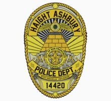 HAIGHT ASHBURY POLICE DEPT. SHIELD  by GUS3141592