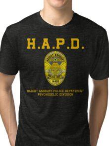 HAIGHT ASHBURY POLICE DEPT.  Tri-blend T-Shirt