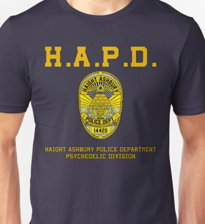 HAIGHT ASHBURY POLICE DEPT.  Unisex T-Shirt