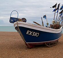Fishing Boat, Hastings  by hootonles