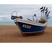 Fishing Boat, Hastings  Photographic Print