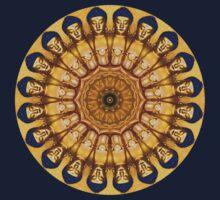 Buddha Kaleidoscope T by fantasytripp