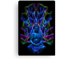 Psychedelic Buddah Canvas Print