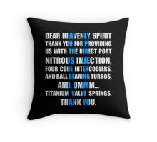 The Fast And The Furious Jesse Grace V1 Throw Pillow