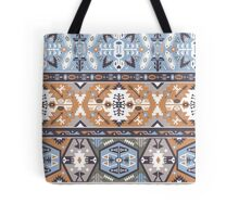 Seamless colorful tribal pattern Tote Bag