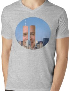 Twin Bush Mens V-Neck T-Shirt