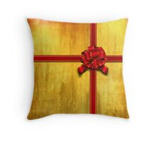 Gift wrapped 2 Throw Pillow