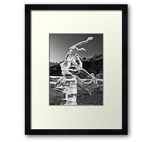 The Angel of Lake Louise Framed Print