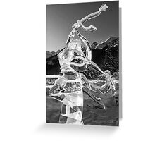 The Angel of Lake Louise Greeting Card