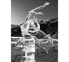 The Angel of Lake Louise Photographic Print