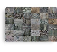 Stone Patchwork 6x6 Canvas Print